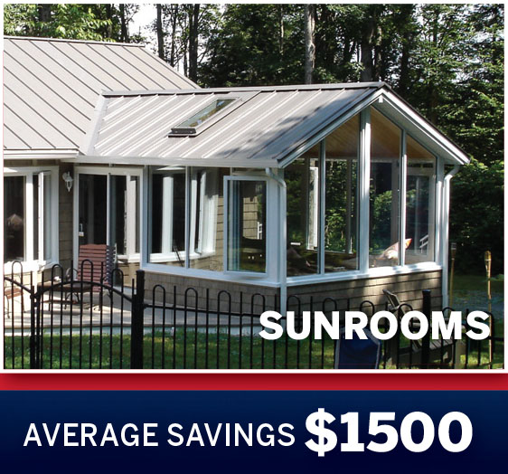 Sunroom Savings
