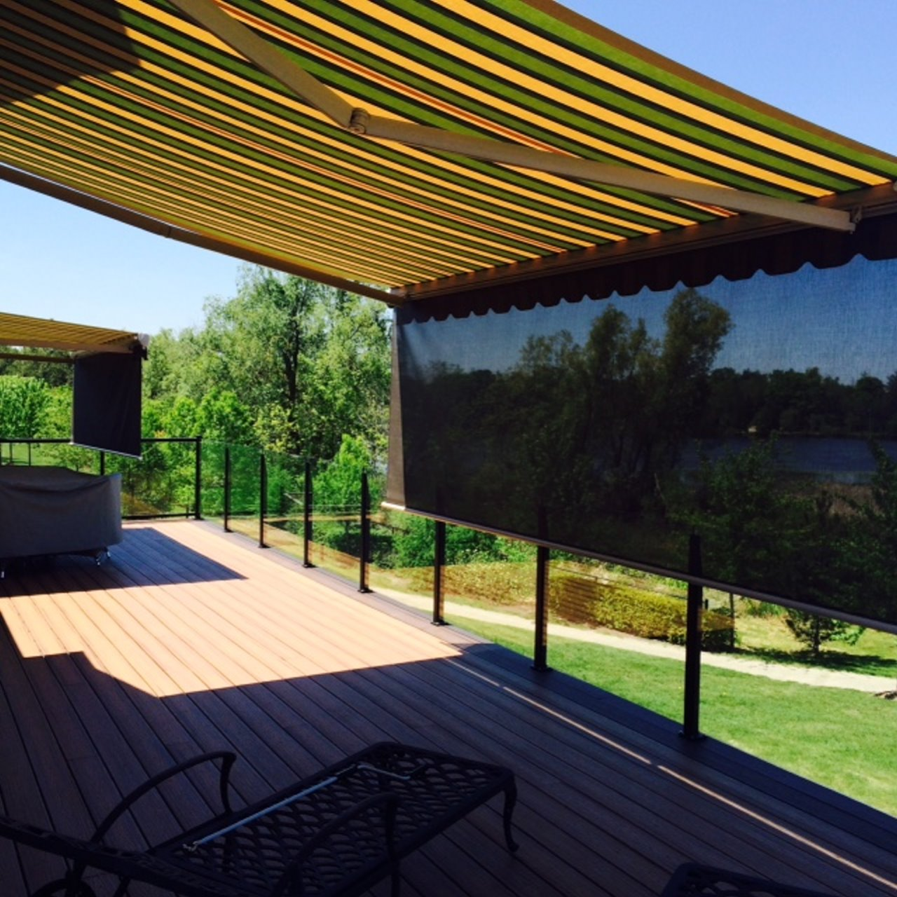 Retractable & Permanent Awnings: Fabric Awnings and Patio ...
