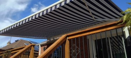 Photo: Fabric Awning Installation in Scarborough