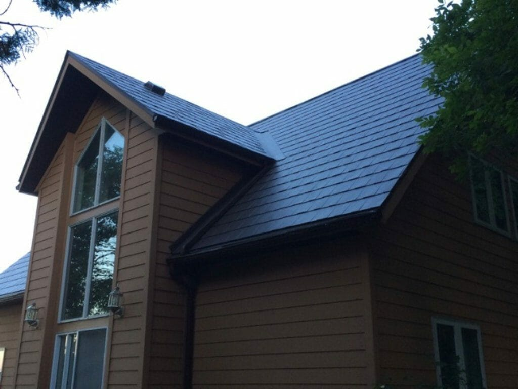 New Metal Roofing Installation On Georgina Island