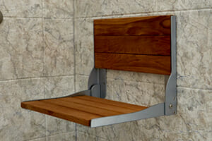 chair insert in bathroom by lifestyle home products